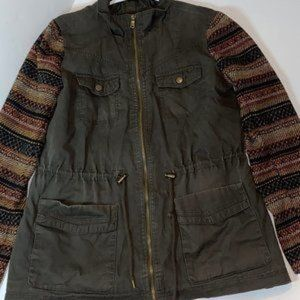 Mossimo supply co lightweight utility jacket med